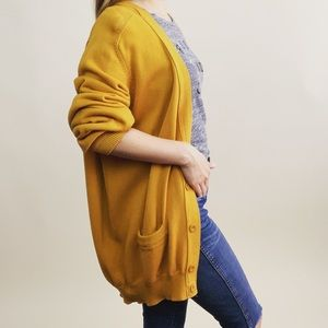 United Colors of Benetton Marigold Knit Cardigan